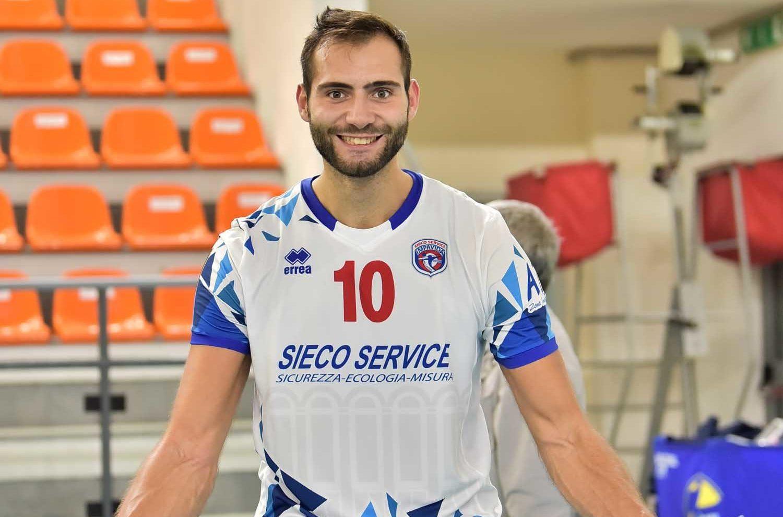 Diego Cantaagalli firma per volley tricolore