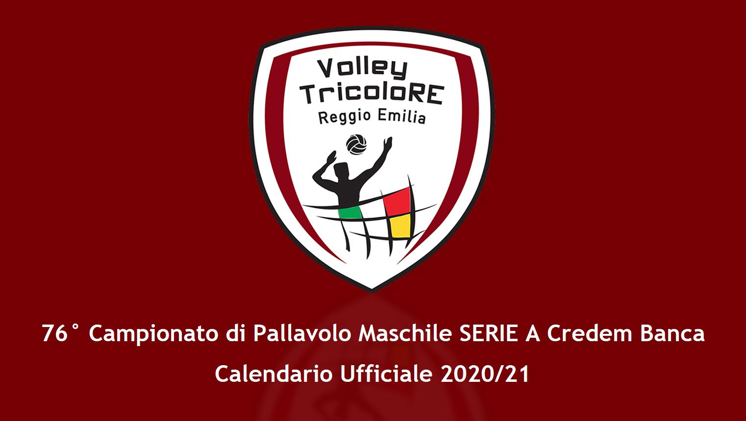 Calendario stagione 2020/21 serie A2 Credem banca – Volley Tricolore